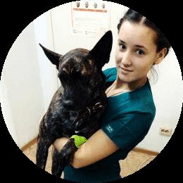 Бохан Полина Дмитриевна. Ветеринарный врач, анестезиолог-реаниматолог, терапевт.