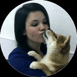 Седова Татьяна Юрьевна. Ассистент ветеринарного врача. Студентка СПбГАВМ.